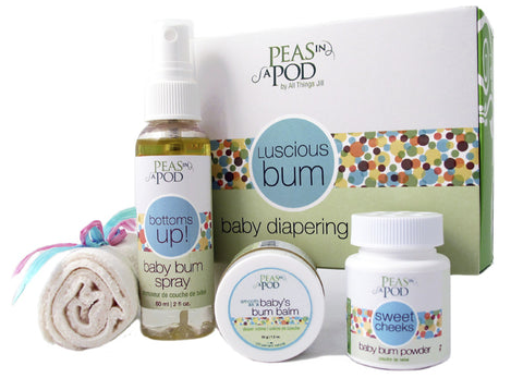 Luscious Bum Baby Diapering Kit - by Peas in a Pod