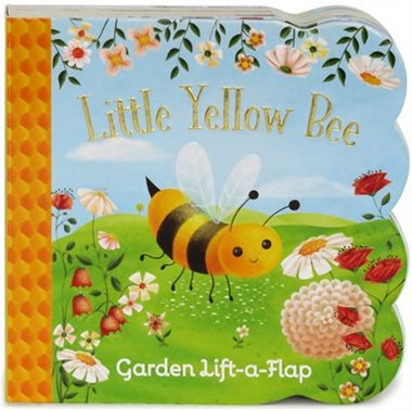 Little Yellow Bee: Chunky Lift A Flap Board Book - By Ginger Swift