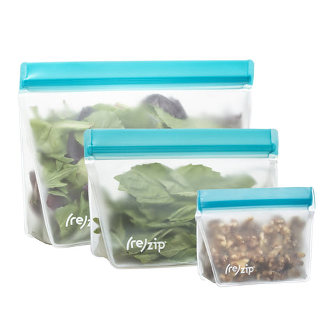 (re)zip - 3 Pack Reusable Stand Up Storage Bags