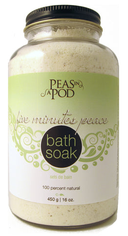Five Minutes Peace Bath Soak - by Peas in a Pod
