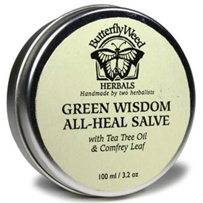 Butterfly Weed Herbals - Green Wisdom All Heal Salve