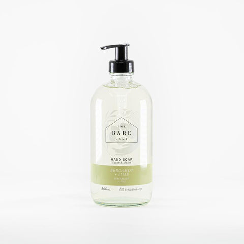 The Bare Home Bergamot & Lime Hand Soap (500 ml)