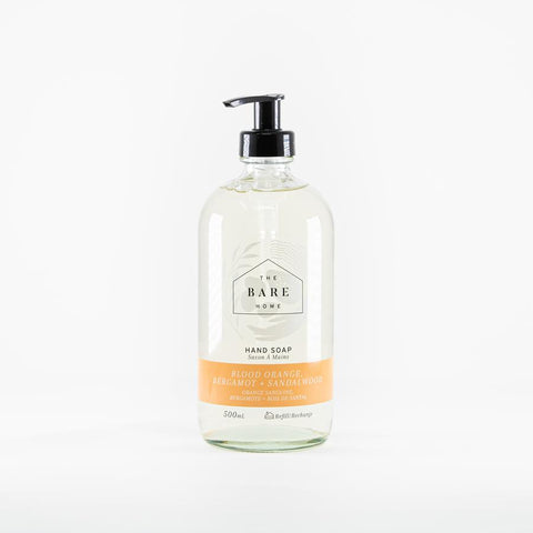 The Bare Home Blood Orange, Bergamot & Sandalwood Hand Soap (500 ml)