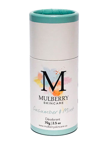 Mulberry Skincare Cucumber Mint Deodorant (Baking Soda Free)
