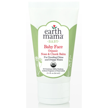 Earth Mama Organics Baby Face Nose and Cheek Balm