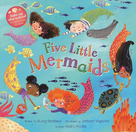 Barefoot Books - Five Little Mermaids