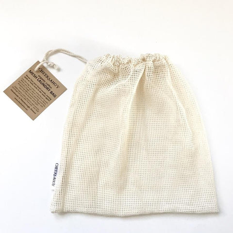 Cheeks Ahoy - Organic Cotton Mesh Laundry Bag