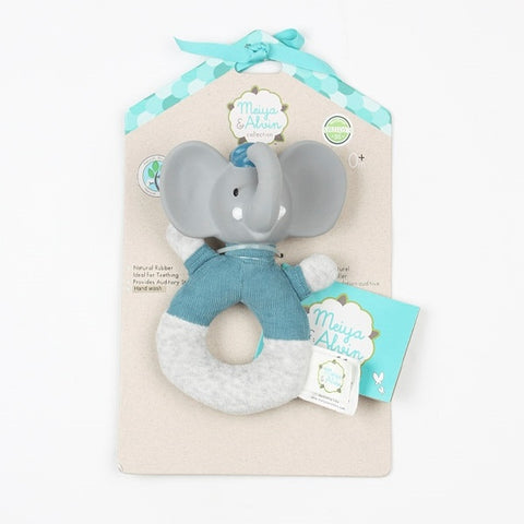 Meiya & Alvin Collection - Alvin Elephant Rattle Toy