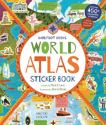 Barefoot Books - World Atlas Sticker Book