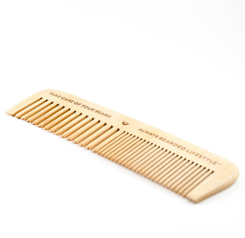 Always Bearded Anti-Static Maple Beard Comb