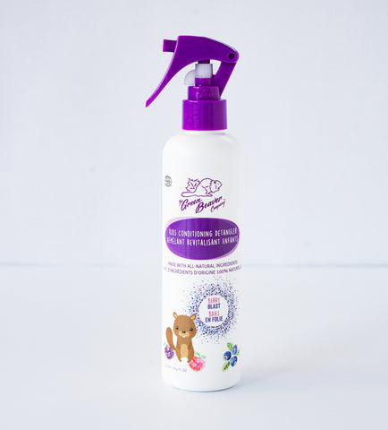 Green Beaver Jr Boreal Berries Conditioning Detangler Spray