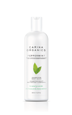 Carina Organics - Shampoo & Body Wash - Peppermint