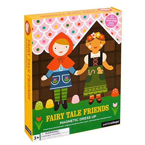 Petit Collage - Fairy Tale Friends Magnetic Dress Up