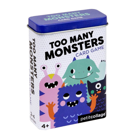 Petit Collage - Card Game To Many Monsters
