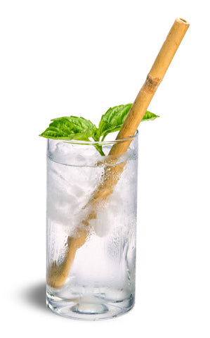 Clean Planetware Bamboo Drinking Straw Single sizes vary