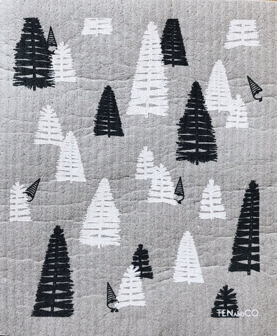 Ten and Co. Sponge Cloth - Holiday Patterns