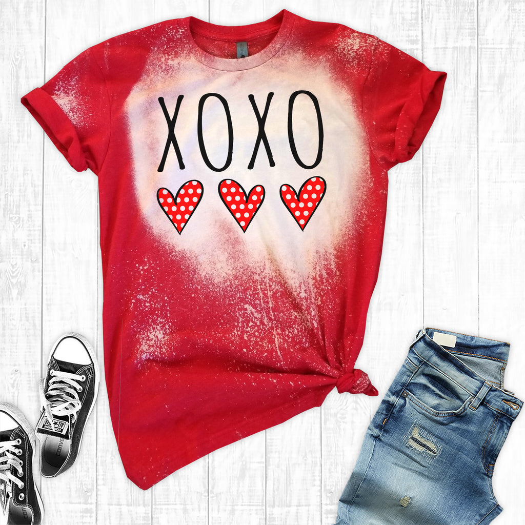 Distressed XOXO
