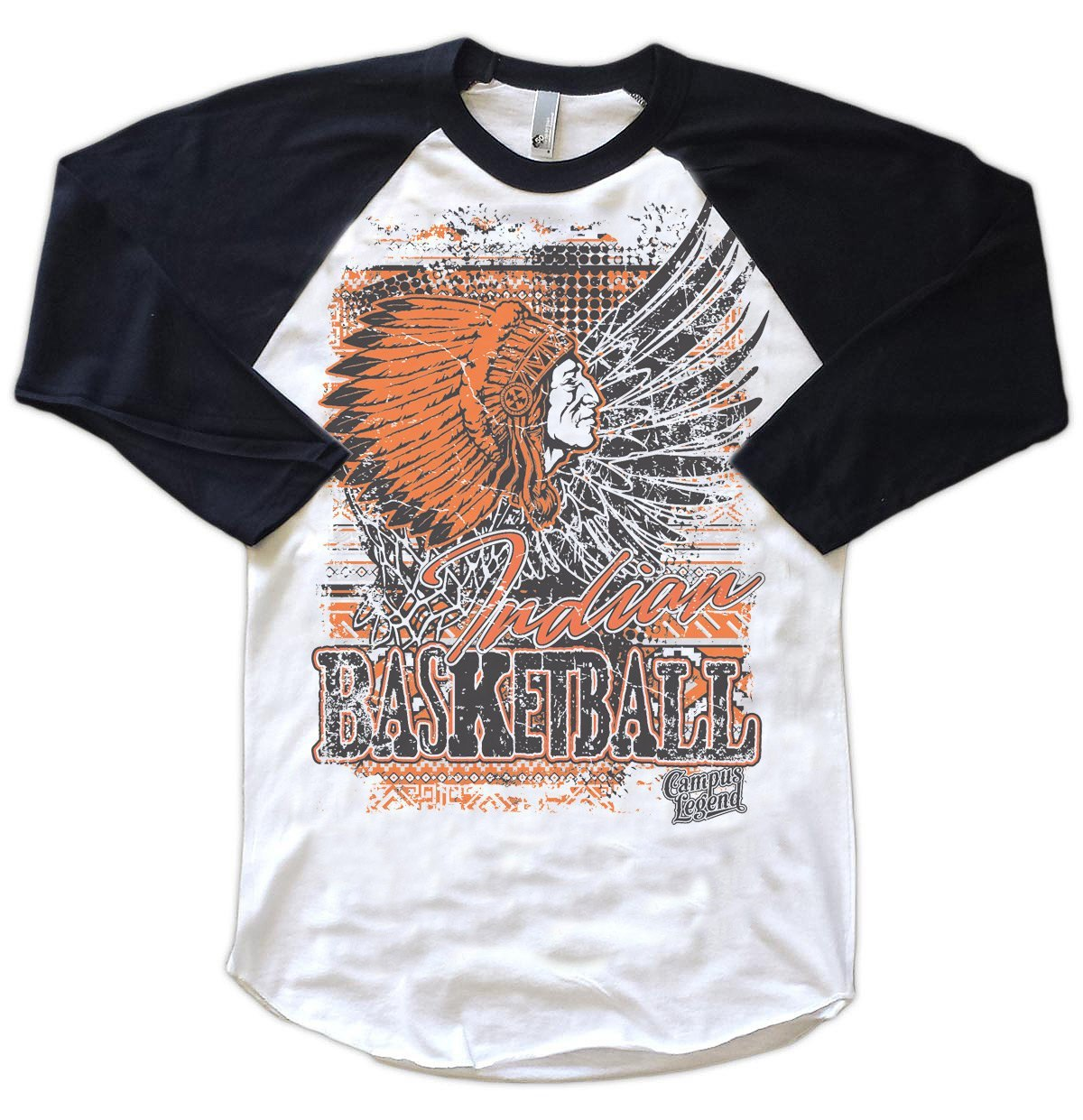 Raglans - Aztec Winged Basketball