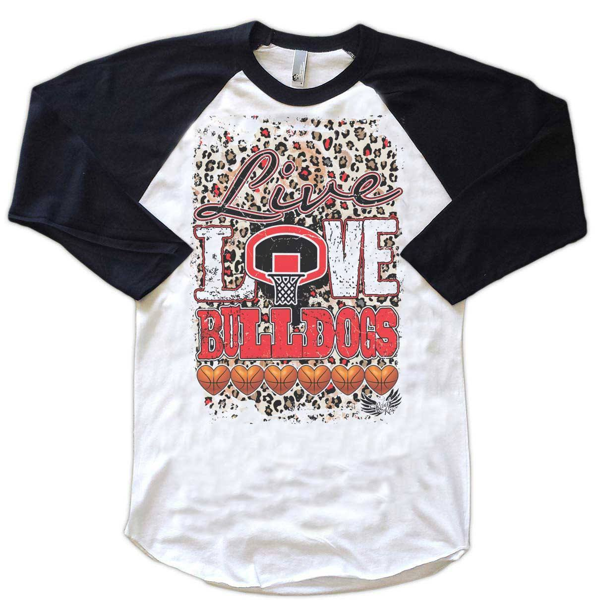 Raglans - Live, Love, Basketball