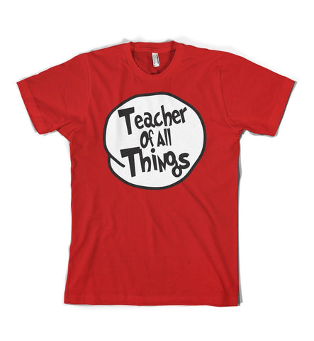 Short Sleeve - Teacher Of All Things