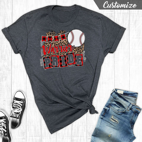 T-Shirts - Baseball Team Pride