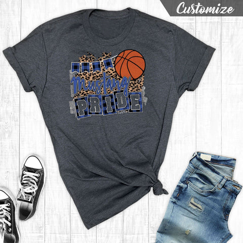 T-Shirts - Basketball Team Pride