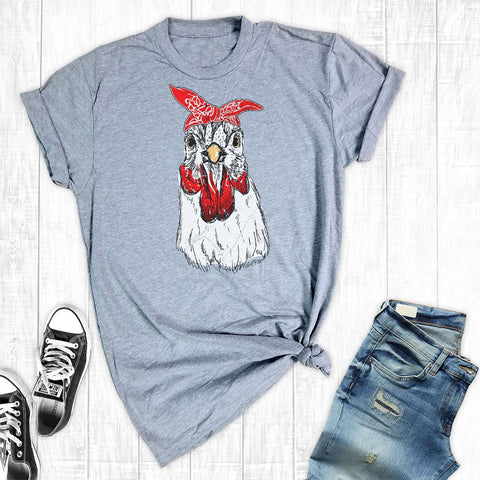 T-Shirts - Chicken Bandana