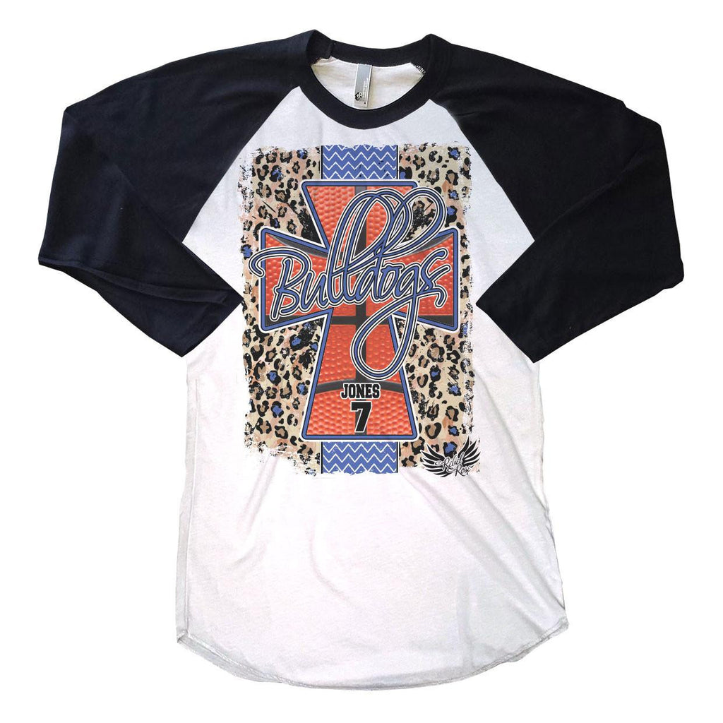 T-Shirts - Leopard Basketball Cross