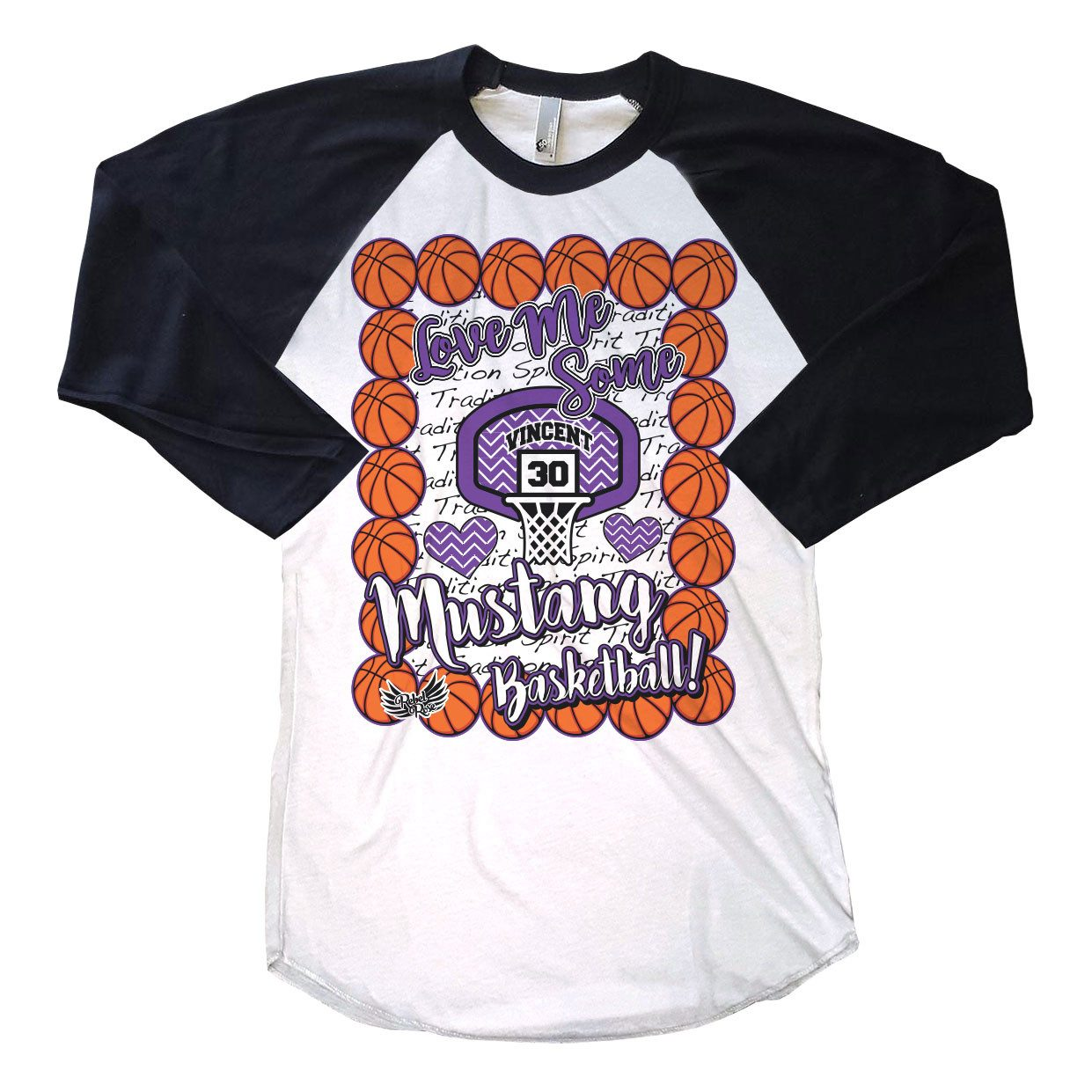 T-Shirts - Love Me Some Basketball