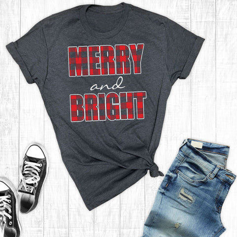 T-Shirts - Merry And Bright