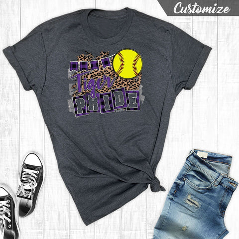 T-Shirts - Softball Team Pride