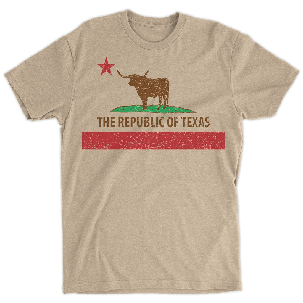 T-Shirts - The Republic Of Texas