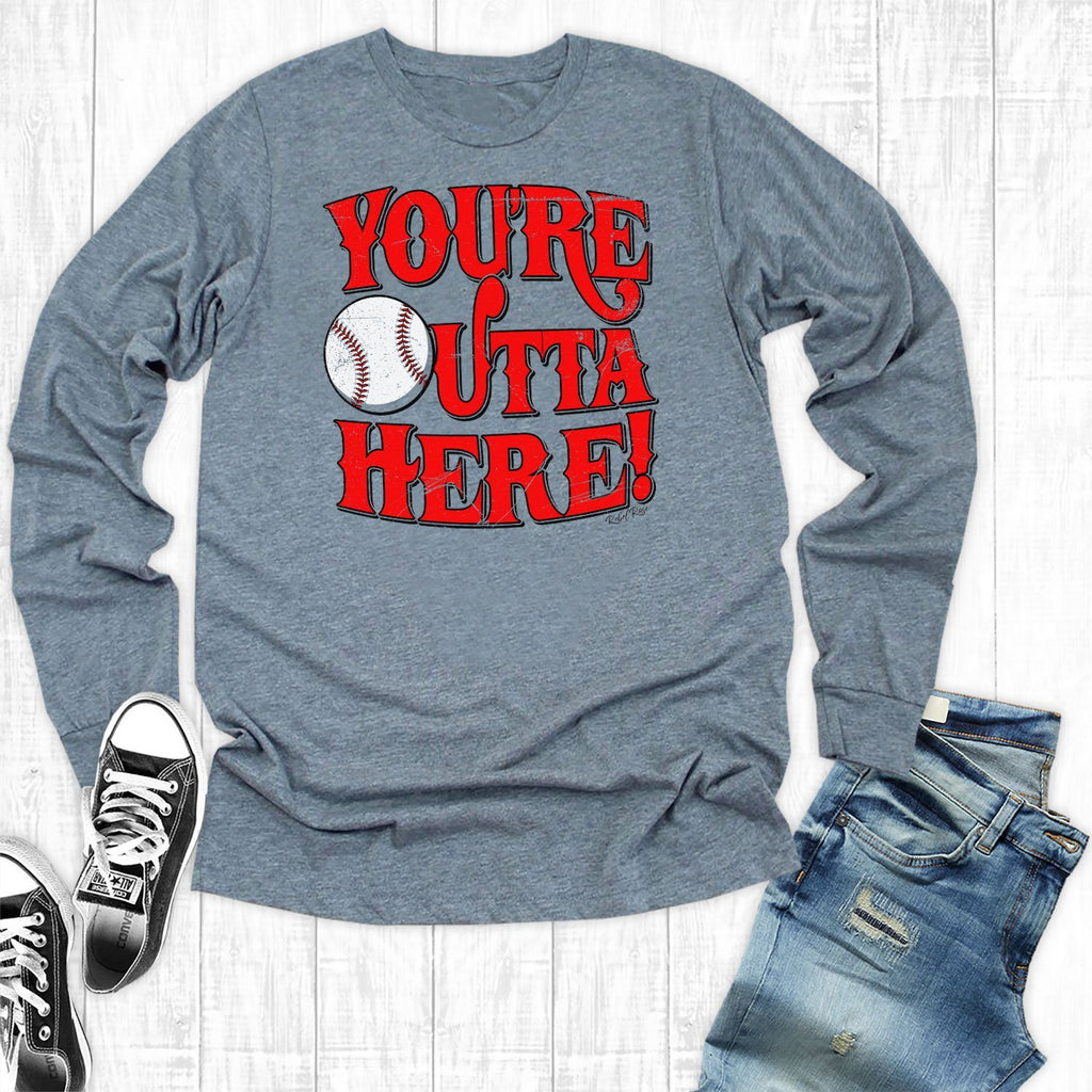 T-Shirts - You're Outta Here Baseball