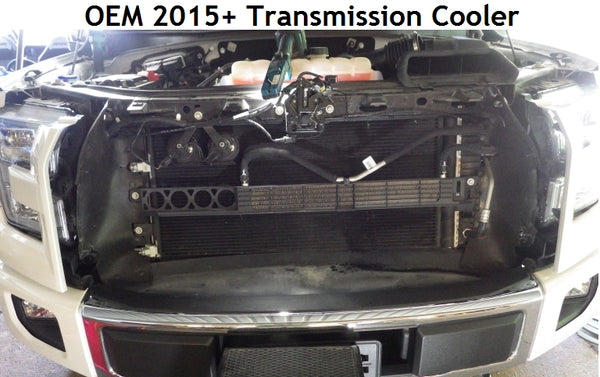 Full-Race Transmission Cooler Upgrade for 2017+ Ford F-150 Raptor