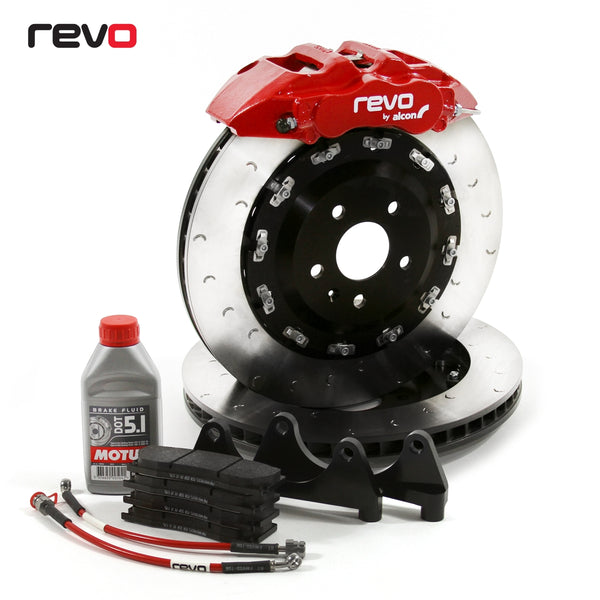 REVO/Alcon Mono 6 (6-Piston) Big Brake Kit for 2013+ Ford Focus ST/RS