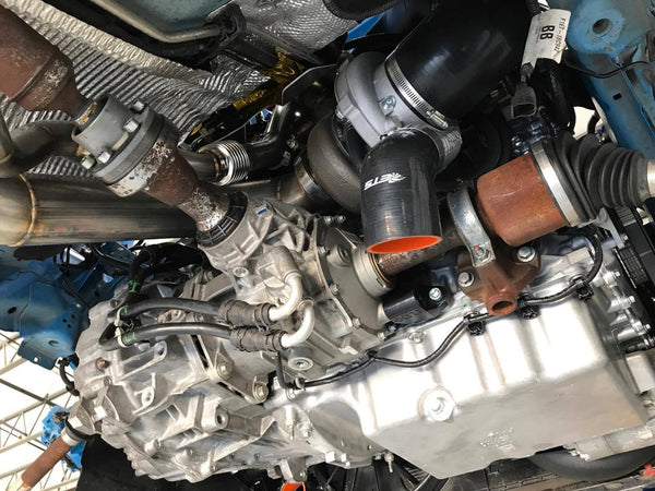 ETS Twin Scroll V-Band Turbo Kit for 2016+ Ford Focus RS