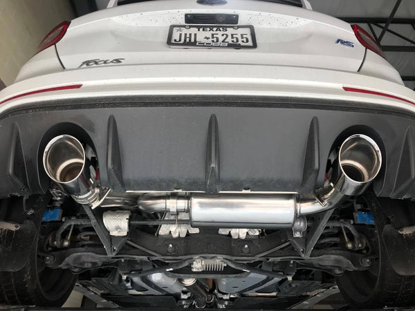 Full-Race Active Valve Catback Exhaust for 2016+ Ford Focus RS