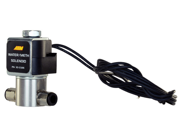 AEM High-Flow Low-Current WMI Solenoid - 30-3326