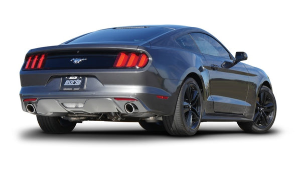 Borla S-Type Axle-Back Exhaust for 2015+ Ford Ecoboost Mustang