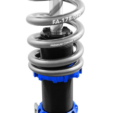 Fortune Auto Dreadnought PRO 2-Way Coilovers for 2013+ Ford Focus ST