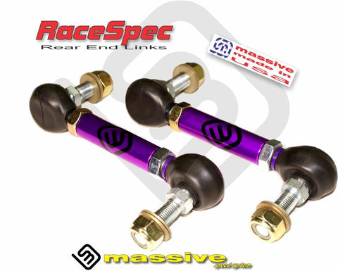 Massive RaceSpec Rear Adjustable End Links for 2013+ Ford Focus ST/RS