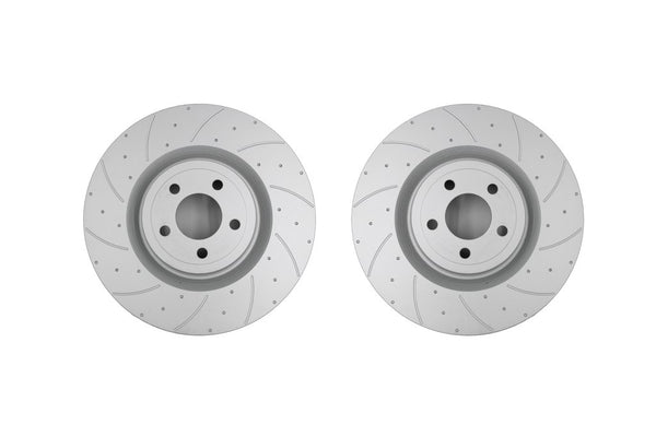 Pedders SportsRyder Front Brake Rotor and Pad Kit for 2015+ Ford Mustang w/ Brembos