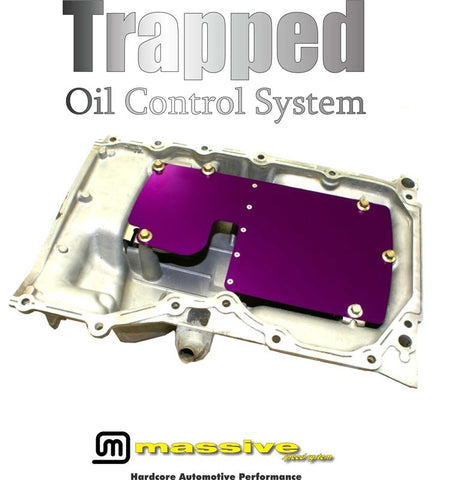 Massive Trapped Oil Control System for 2013+ Ford Focus ST/RS