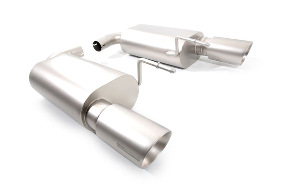 cp-e™ Austenite Axel Back Exhaust System for 2015+ Ford Mustang Ecoboost