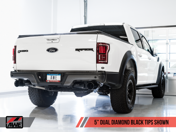 AWE Tuning Catback Exhaust for 2017+ Ford F-150 Raptor