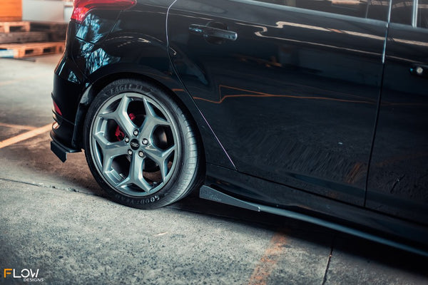 Flow Designs Side Splitters (Pair) for 2015+ Ford Focus ST