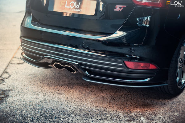 Flow Designs Rear Spats for 2015+ Ford Focus ST