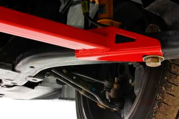 BMR Suspension 2-point Front Subframe Chassis Brace for 2015+ Ford Mustang