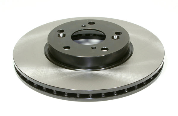 Centric Premium High-Carbon Blank Rotors for 2016+ Ford Focus RS