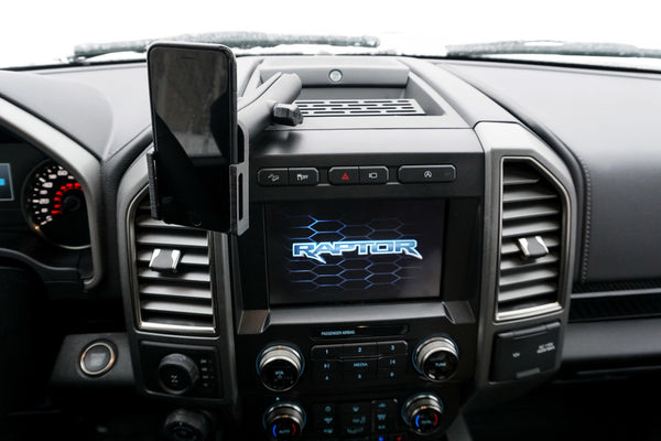 BuiltRight Industries Dash Mount for 2017+ Ford F-150 Raptor